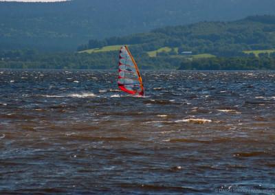 Lipno - windsurfing