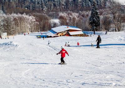 Skiareál Lipno - občerstvení